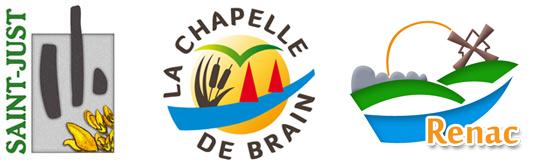 Pays de Redon logos des communes