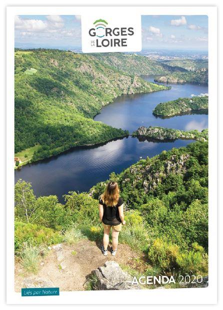 Création identité visuelle Gorges de la Loire