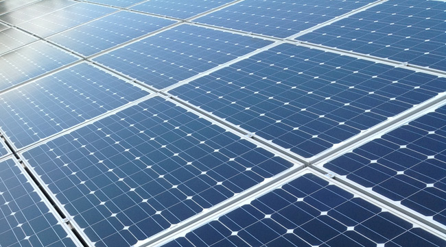Projet de valorisation d'un espace dédié à la production photovoltaïque