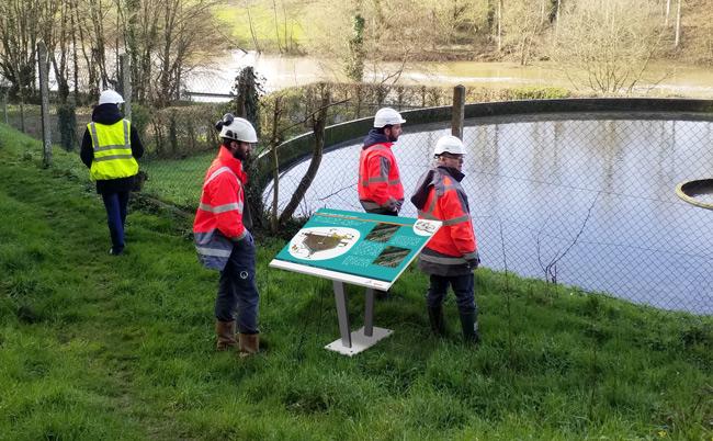 Parcours pédagogique pour la station d'épuration de Mayenne