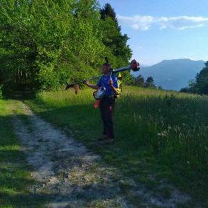 Gestion entretien des sentiers Grand Chambéry