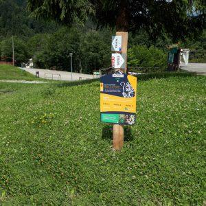 xp trail trail running panneau